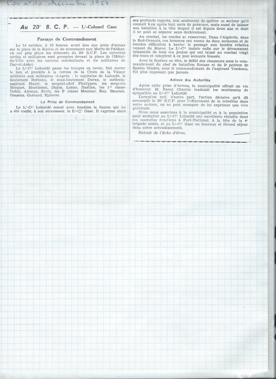 renseignement 20eme BCP 20zome19