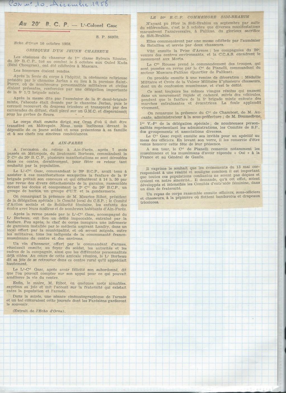 renseignement 20eme BCP 20zome24