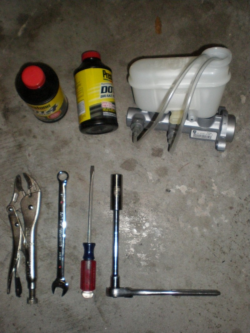 Write-Up: Brake Master Cylinder - Install & Bench Bleed - Page 3 P4080010