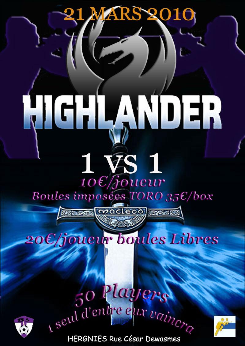 Apocalypse Dracks Highlander 1vs1 (21 Mars) Highla13