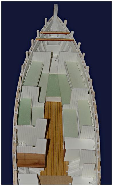 Le Saint Michel II au 1/20ème - sur plans Dsc00713