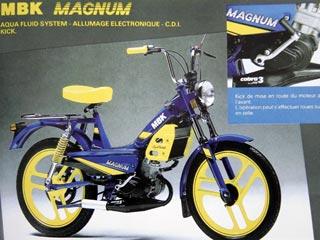 [Mobylette Peugeot 104 an 1977] question sur allumages +rénovation de la peinture Magnum10