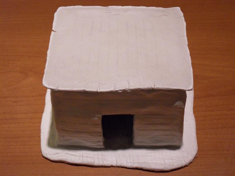 Décors en pâte à modeler Bunker10