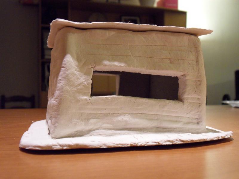 Décors en pâte à modeler Bunker14