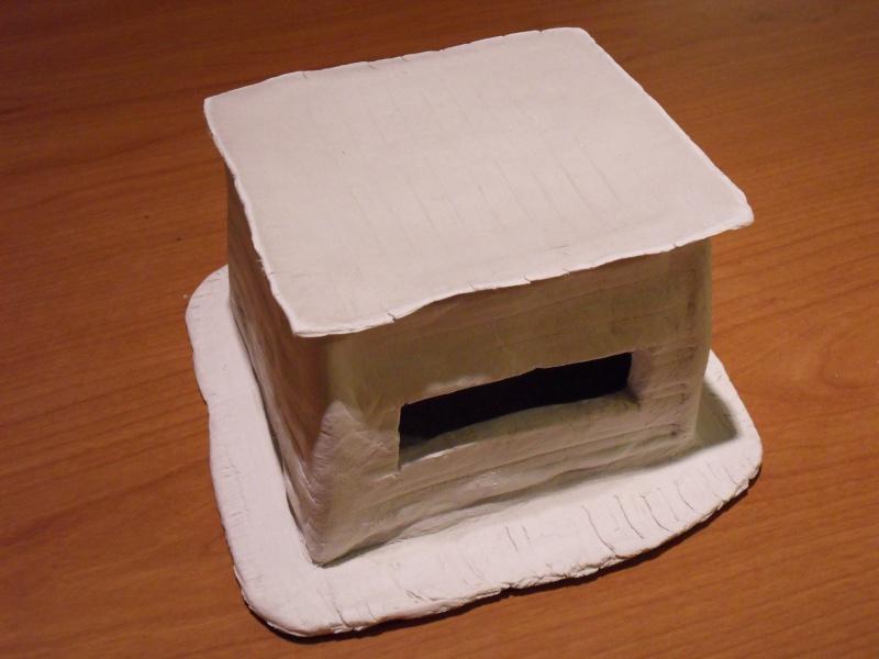Décors en pâte à modeler Bunker15