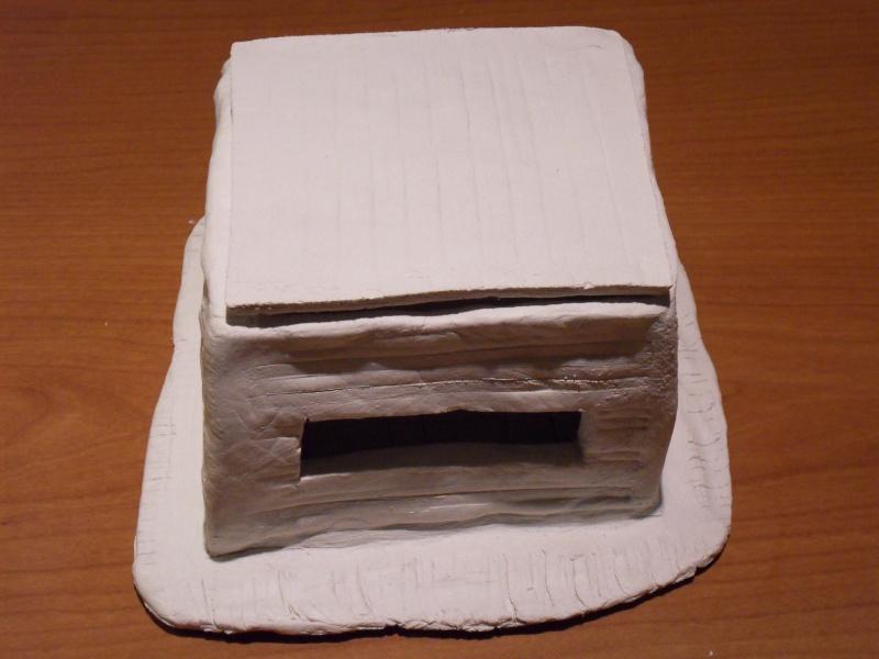 Décors en pâte à modeler Bunker17