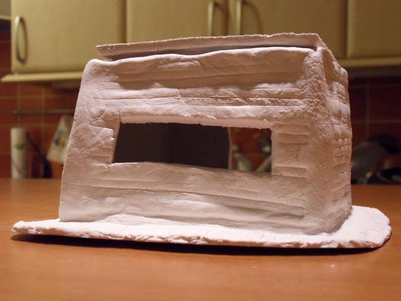 Décors en pâte à modeler Bunker18