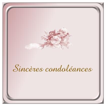 décès d'un de nos membres DEVORS Condol16
