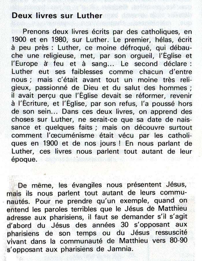 Pour lire le nouveau testament par Etienne Charpentier Deux_l10