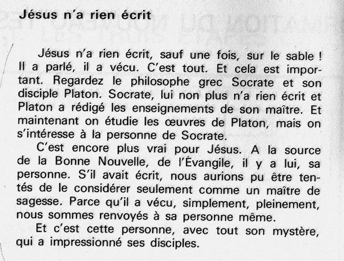 Pour lire le nouveau testament par Etienne Charpentier Jasus_10