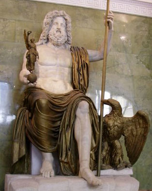 le trône de dieu Zeus10