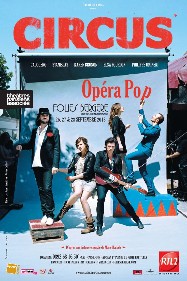 Circus en concert aux Folies-Bergère en septembre 2013 16330110
