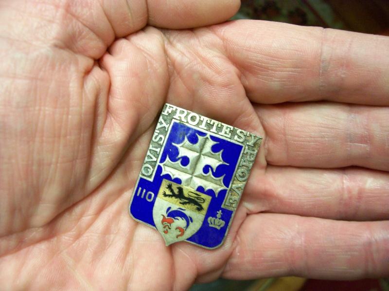 enfin l insigne de mon regiment 110 RI 110a_r10