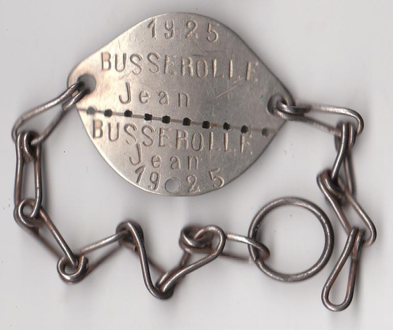 Les plaques d'identité Françaises 39/40 Plaque34
