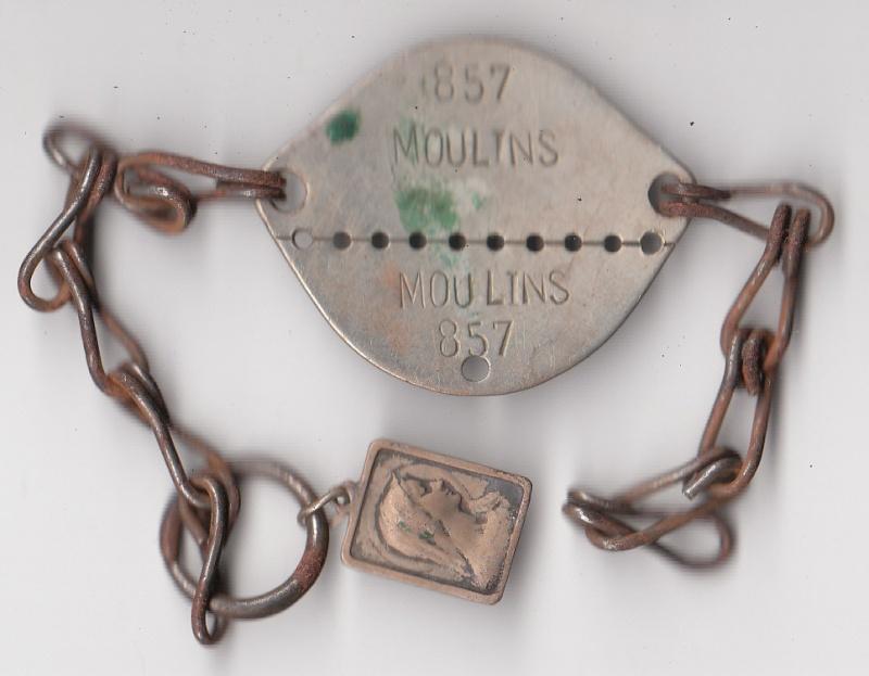 Les plaques d'identité Françaises 39/40 Plaque41
