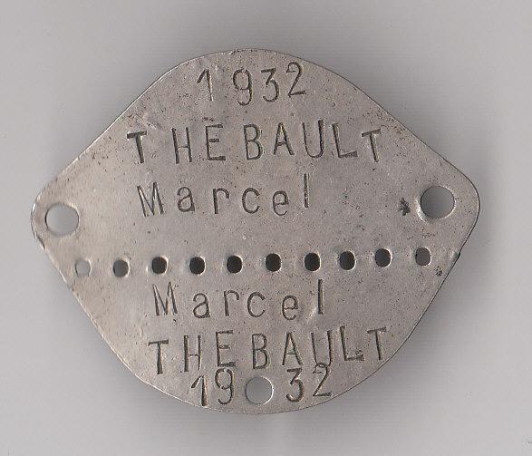 Les plaques d'identité Françaises 39/40 Plaque44