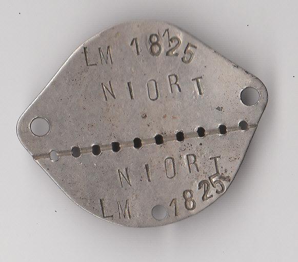 Les plaques d'identité Françaises 39/40 Plaque45