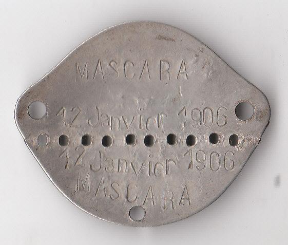 Les plaques d'identité Françaises 39/40 Plaque49