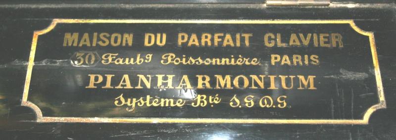 Pianharmonium Maison du parfait clavier 100_0012