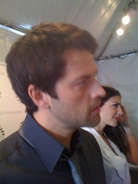 Supernatural au Paley Festival 2011 Misha_13