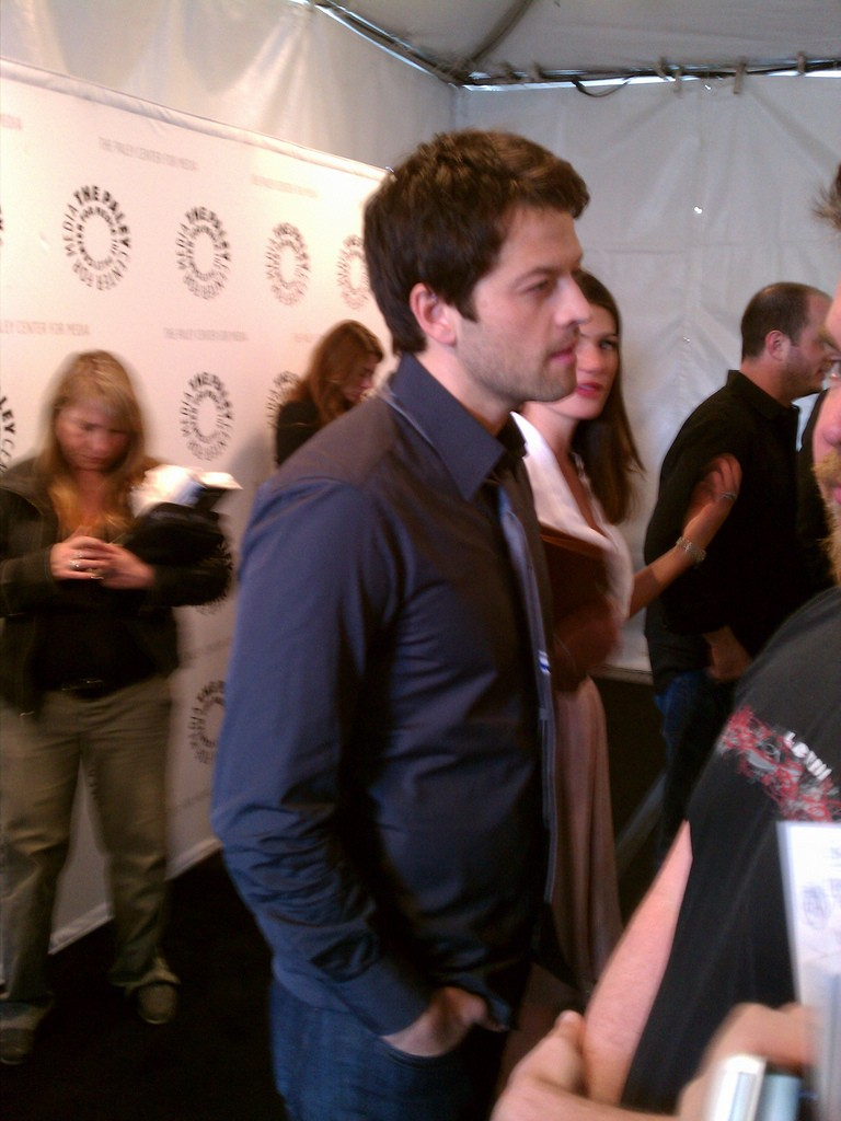 Supernatural au Paley Festival 2011 Misha_14