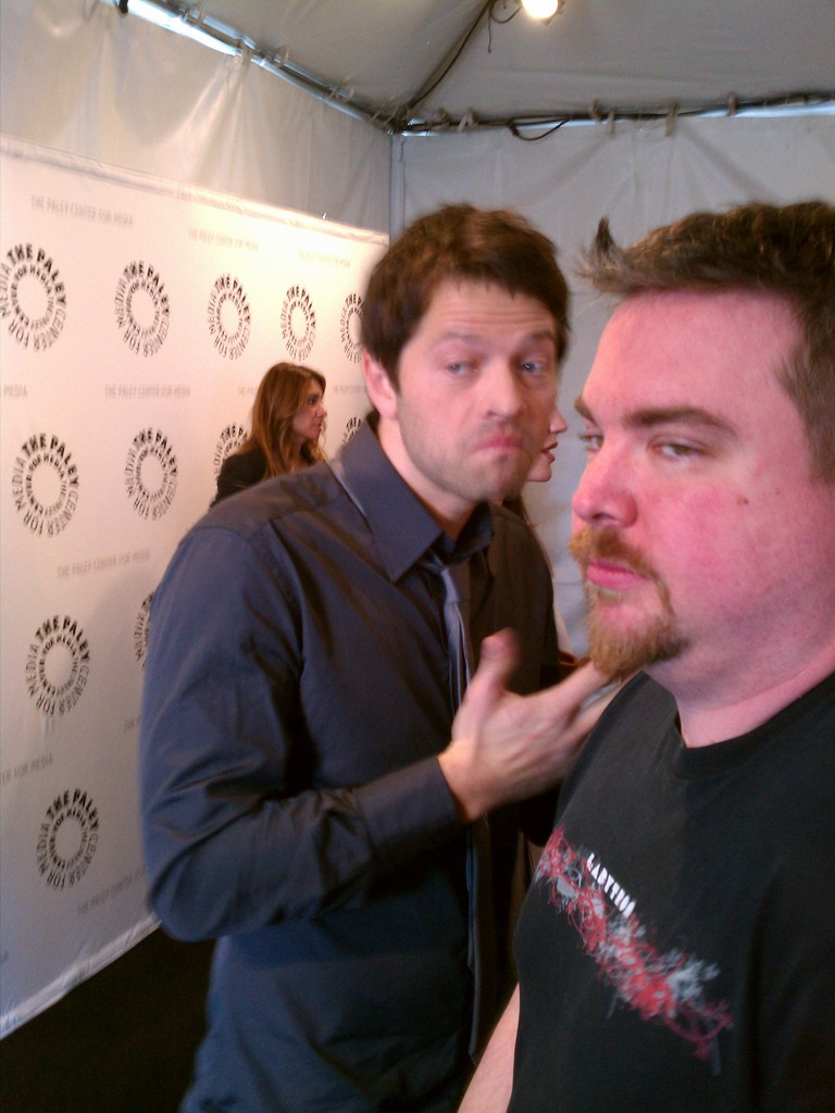 Supernatural au Paley Festival 2011 Misha_15
