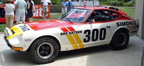 BRE DATSUN : 240Z baja 500 Préparation PETE BROCK Datsun13