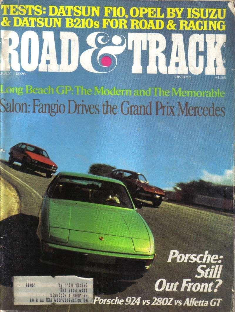 ROAD & TRACK Juillet 1976: comparatif ... Road__10
