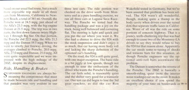 ROAD & TRACK Juillet 1976: comparatif ... Road__20