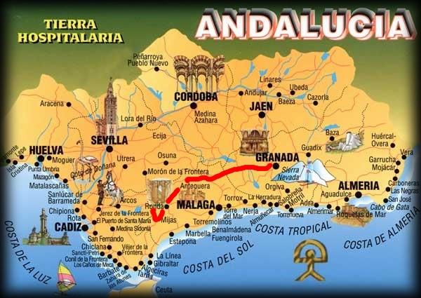 Andalousie (2) Antéquéra-Olvéra-Ronda-Séténil de la Bodégas Carte_14