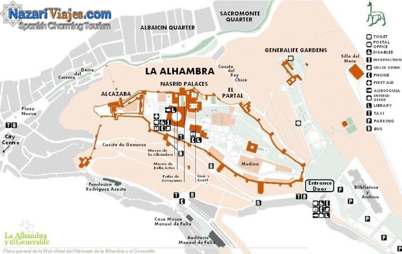 Andalousie (1) Alméria-Grenade Plan2010