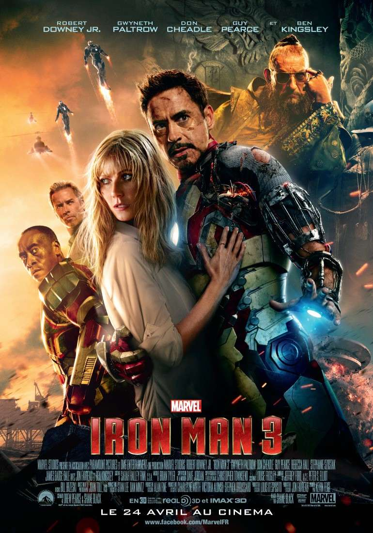 IRON MAN 3 : Marvel : 24 Avril 2013 Affich10