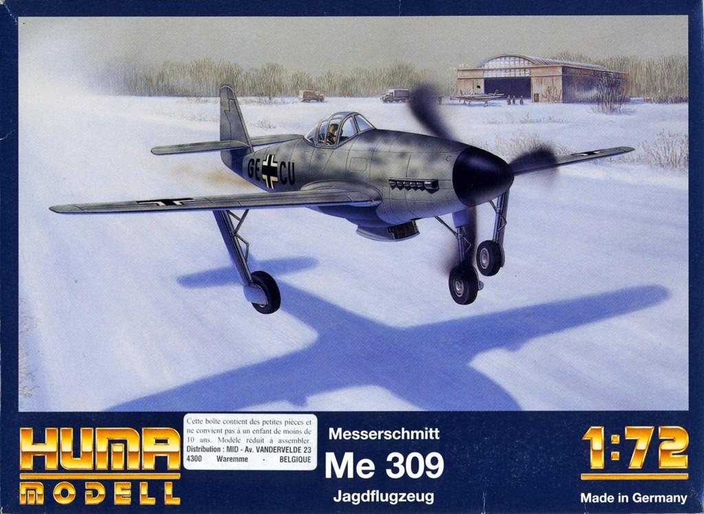 Messerschmitt Me 309 V1 (1942) [1:72 - HUMA-Modell] Box_ar10