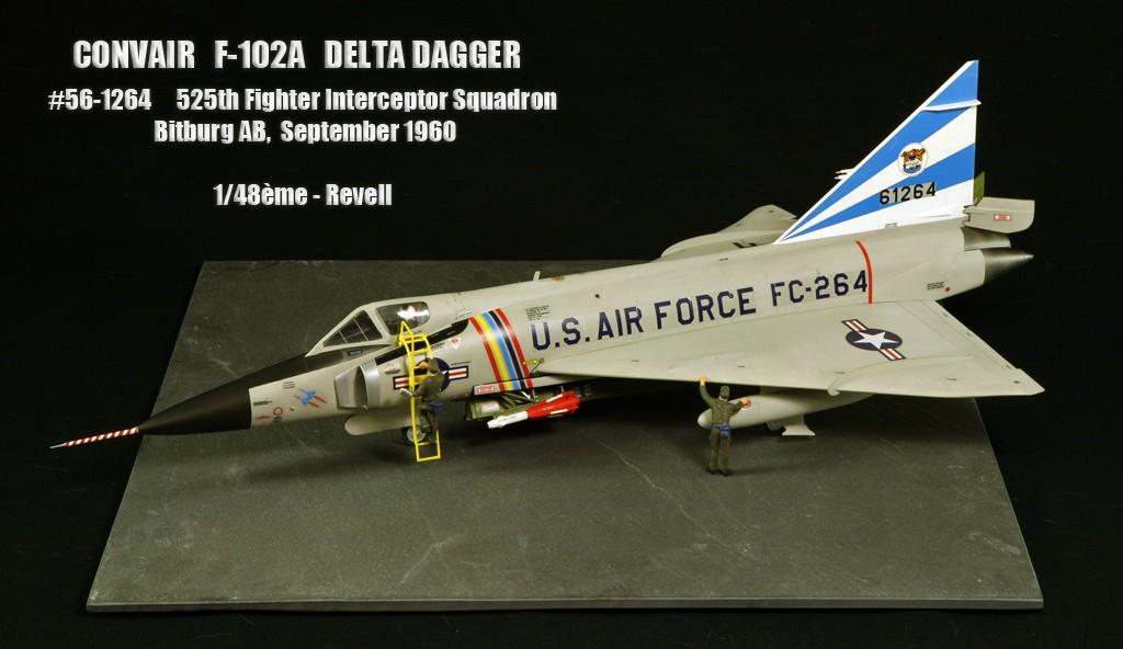 """Convair F-102A """"Delta Dagger"""", 1960  [1:48 - Revell] Convai10"""