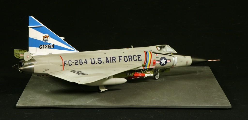 """Convair F-102A """"Delta Dagger"""", 1960  [1:48 - Revell] Convai12"""