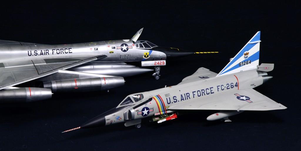 """Convair F-102A """"Delta Dagger"""", 1960  [1:48 - Revell] Convai18"""