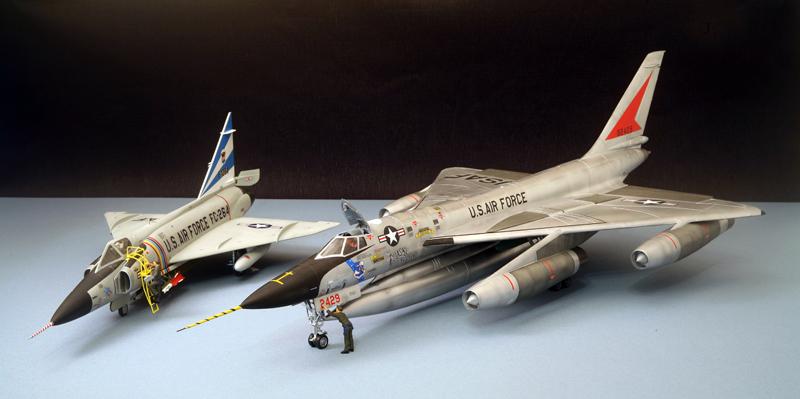 """Convair F-102A """"Delta Dagger"""", 1960  [1:48 - Revell] Convai19"""
