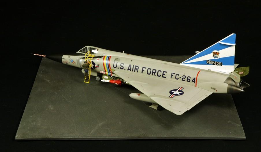 """Convair F-102A """"Delta Dagger"""", 1960  [1:48 - Revell] Convai23"""