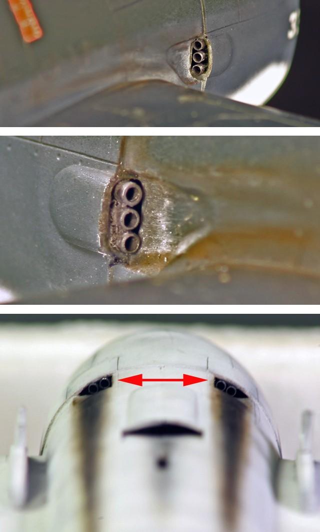 Grumman F6F-3 Hellcat - OTAKI 1/48ème Echapp10