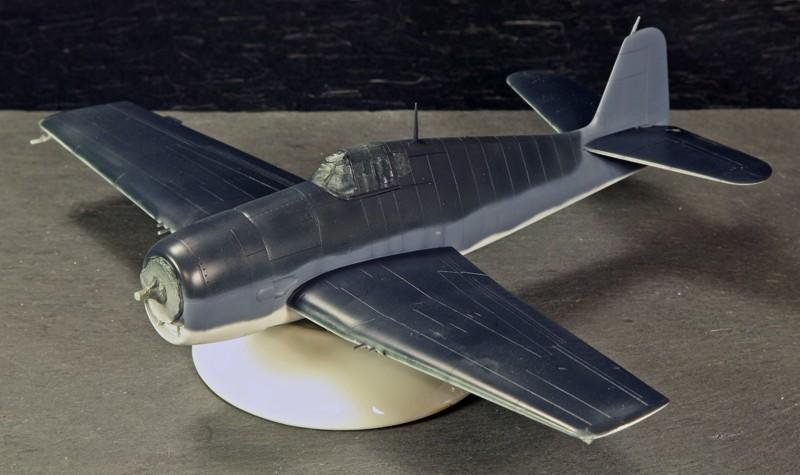 Grumman F6F-3 Hellcat - OTAKI 1/48ème Grumma11