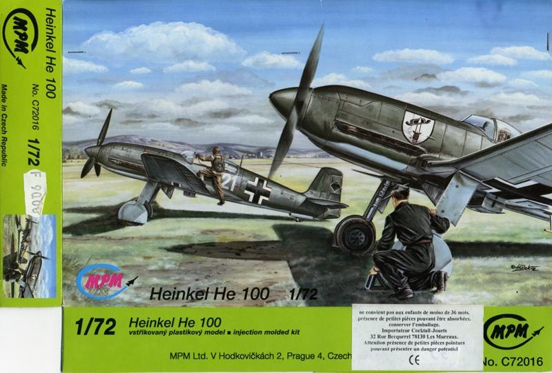 Heinkel He 100D en duo, 1:48 HiPM & 1:72 MPM He_10011