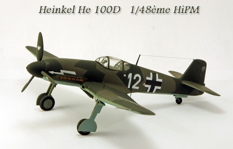 Heinkel He 100D en duo, 1:48 HiPM & 1:72 MPM Heinke10