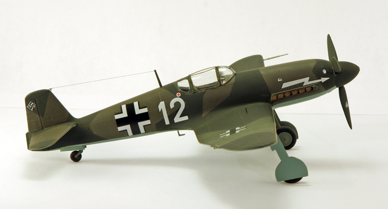 Heinkel He 100D en duo, 1:48 HiPM & 1:72 MPM Heinke13