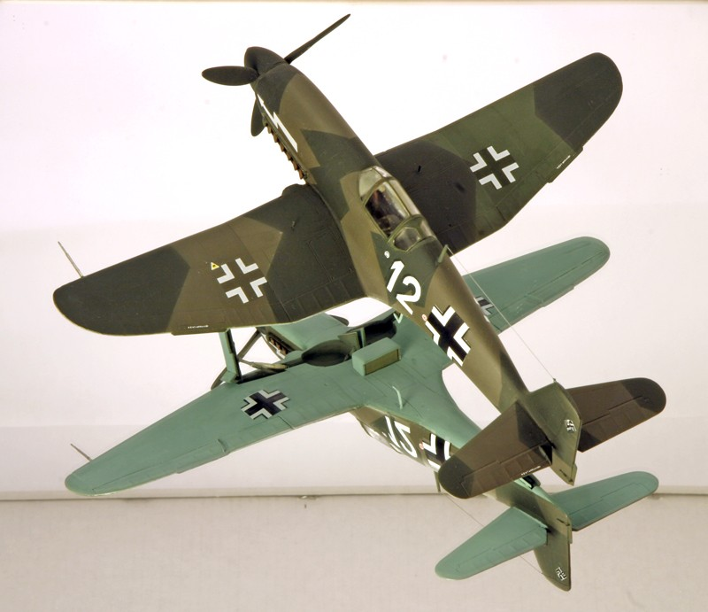 Heinkel He 100D en duo, 1:48 HiPM & 1:72 MPM Heinke19