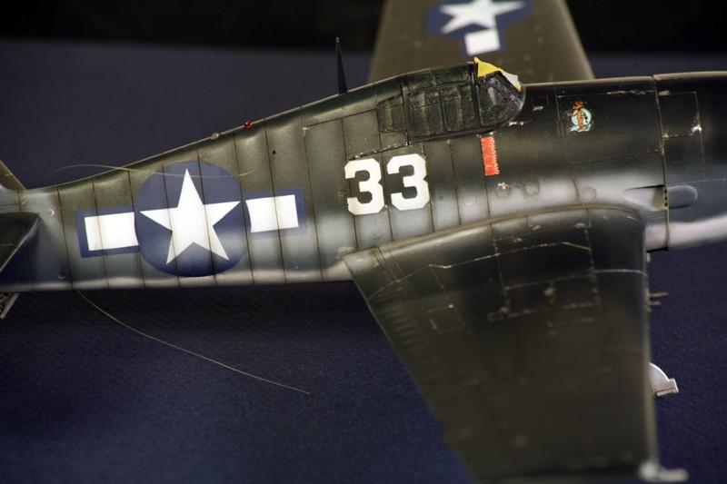 Grumman F6F-3 Hellcat - OTAKI 1/48ème Img_6211