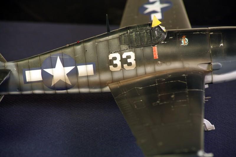 Grumman F6F-3 Hellcat - OTAKI 1/48ème Img_6212