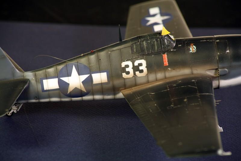 Grumman F6F-3 Hellcat - OTAKI 1/48ème Img_6213
