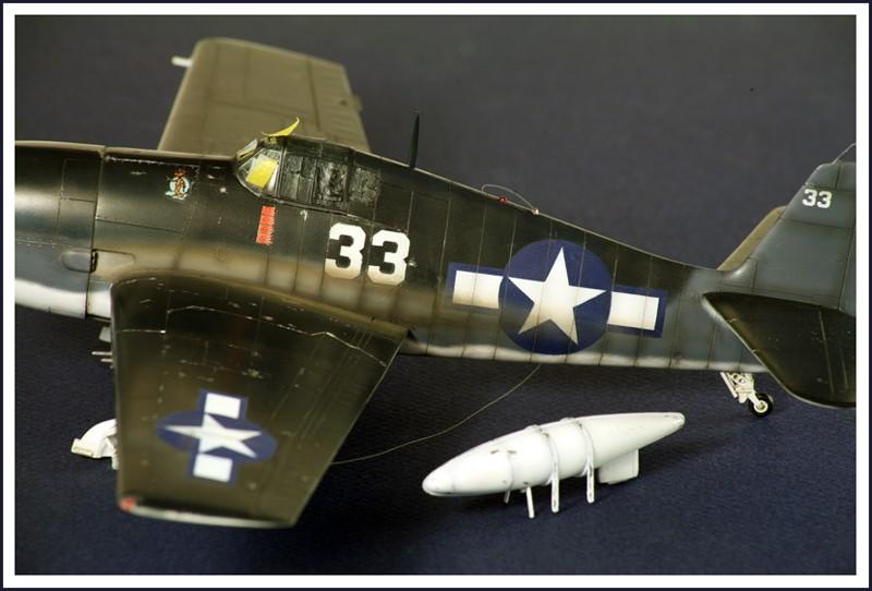 Grumman F6F-3 Hellcat - OTAKI 1/48ème Img_6216
