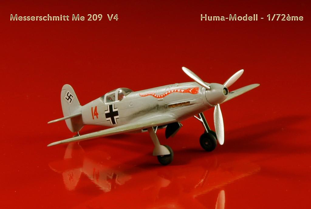 Messerschmitt Me 209 V4 (1939/41)   [1:72 - HUMA-Modell] Me_20910
