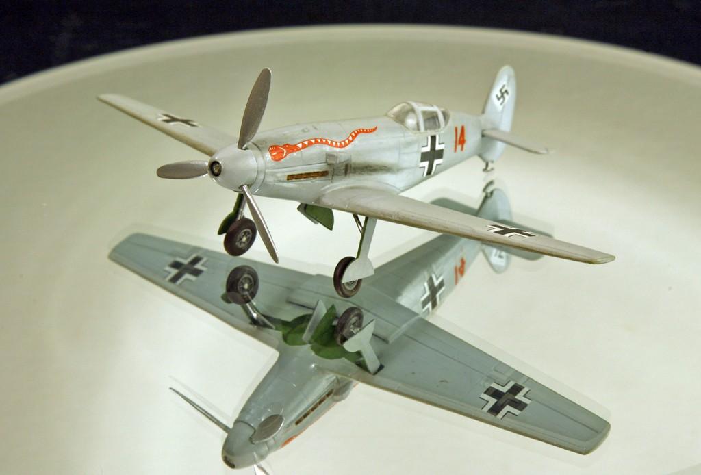 Messerschmitt Me 209 V4 (1939/41)   [1:72 - HUMA-Modell] Me_20911